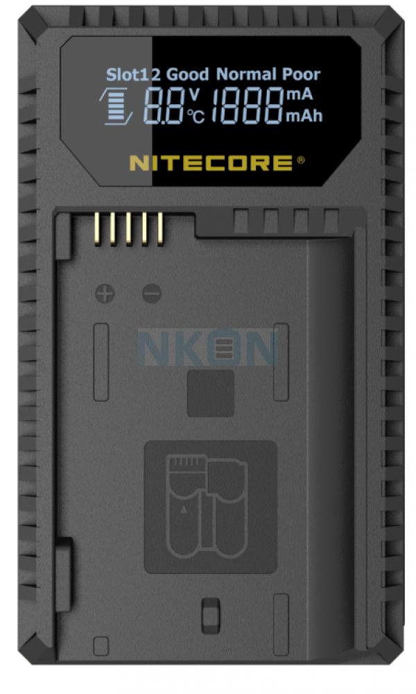 Nitecore UNK1 - Nikon (EN-EL14/EN-EL14a and EN-EL15)