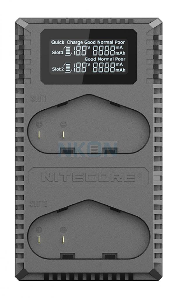 Nitecore UCN4 Pro - Canon (LP-E6N)