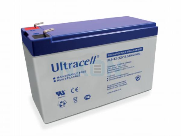 Ultracell 12V 9Ah Loodaccu
