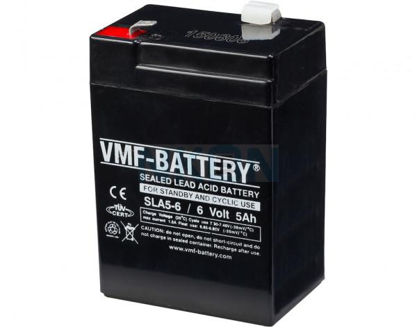 VMF 6V 5Ah loodaccu