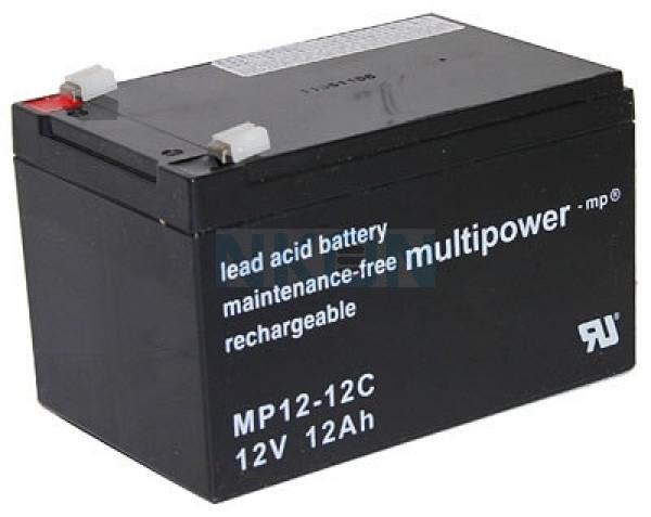 Multipower Deep Cycle 12V 12Ah Loodaccu