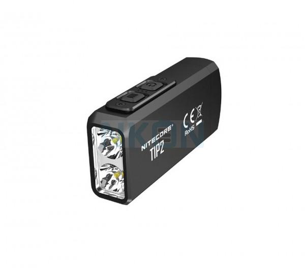 Nitecore Tip2 - 720 Lumen USB oplaadbare sleutelhanger zaklamp
