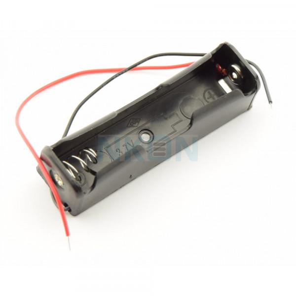 1x 18650 Batterijhouder met losse draden