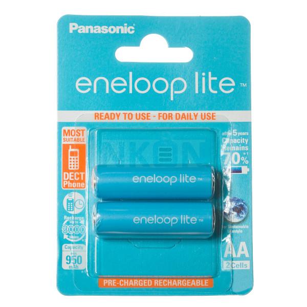 2 AA Eneloop Lite - blister - 950mAh