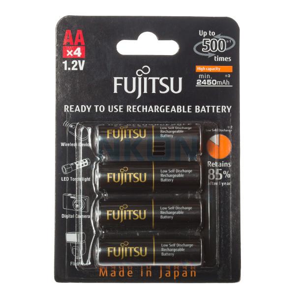 4 AA Fujitsu PRO in blister - 2450mAh