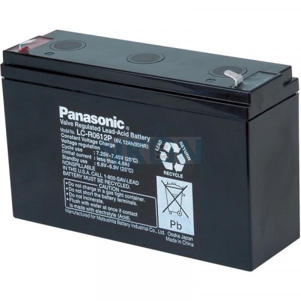 Panasonic 6V 12Ah Loodaccu