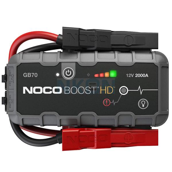Noco Genius Boost HD GB70 jumpstarter 12V - 2000A
