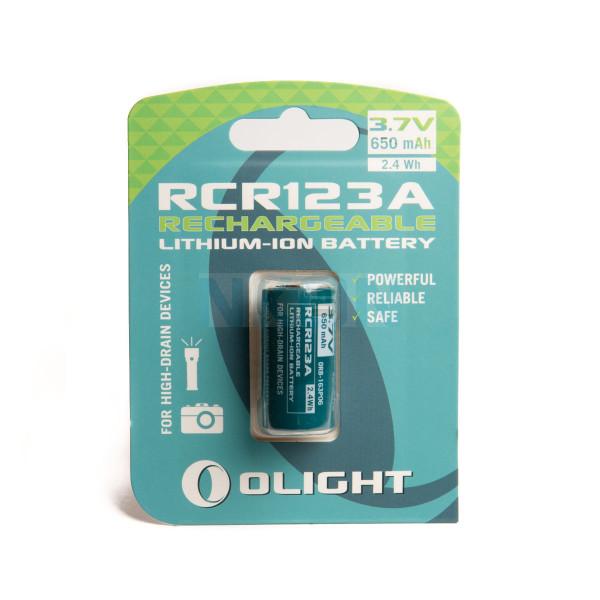 Olight RCR123A - 650mAh