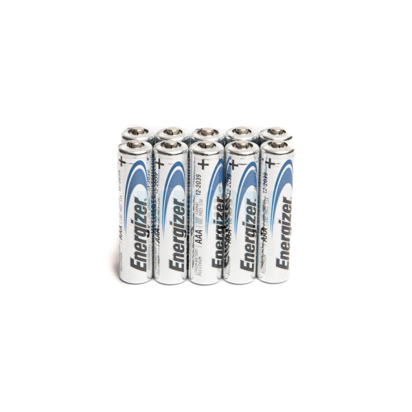 10 AAA Energizer Ultimate Lithium L92 - 1.5V