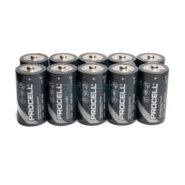 10 C Duracell Procell