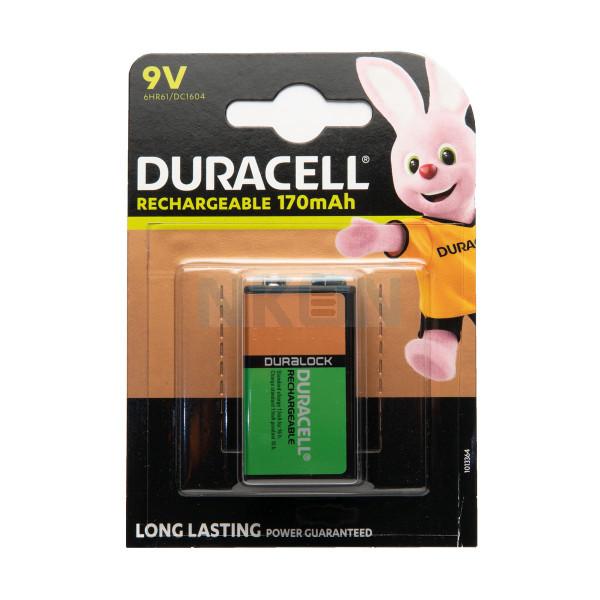 9V Duracell Recharge - blister