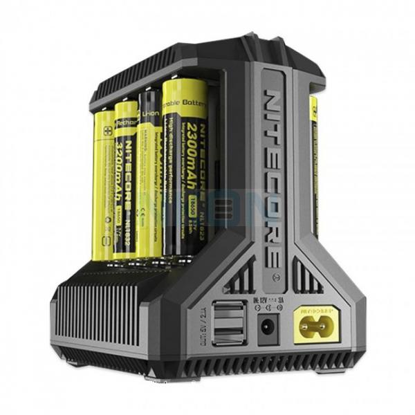 Nitecore Intellicharger i8 batterijlader