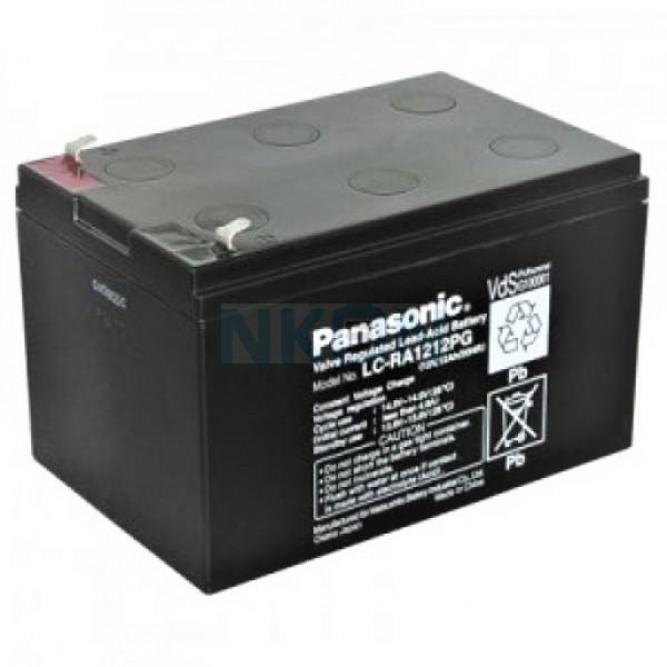 Panasonic 12V 12Ah Loodaccu