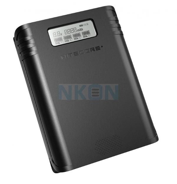 Nitecore F4 powerbank / batterijlader