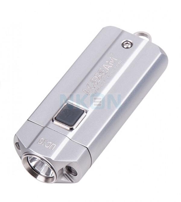 Acebeam UC15 XP-L Zaklamp Zilver (inclusief 10440 batterijen)