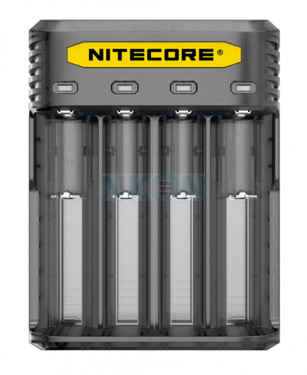 Nitecore Q4 batterijlader  - Blackberry