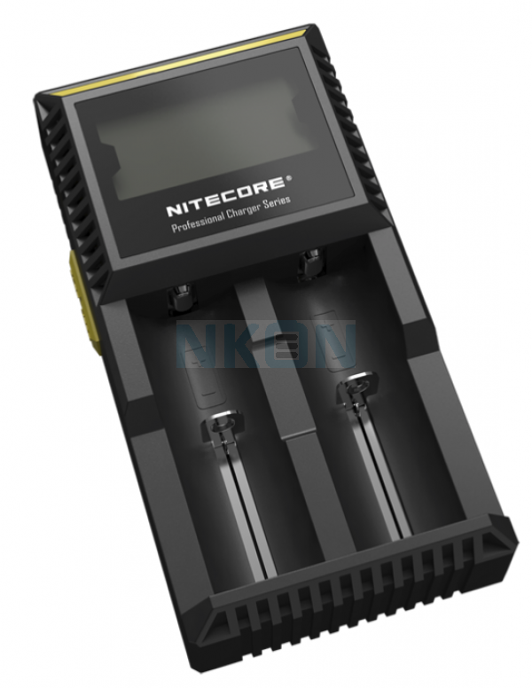 Nitecore Digicharger D2 batterijlader