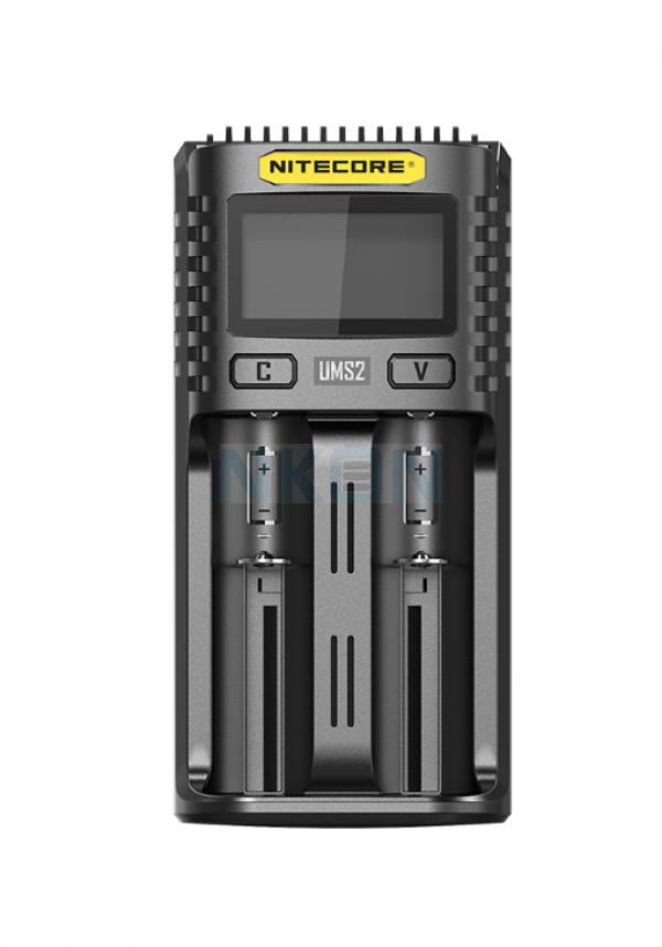 Nitecore UMS2 USB batterijlader