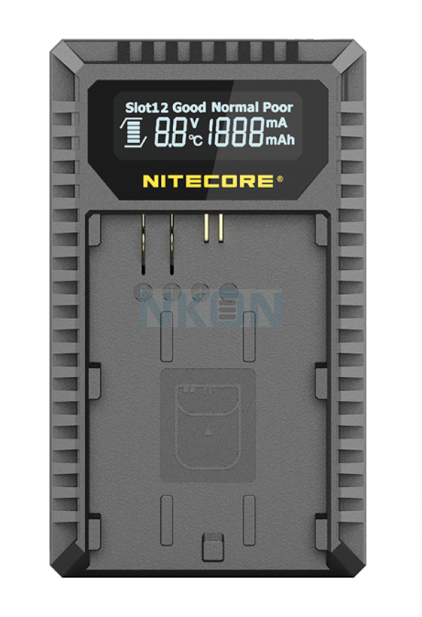Nitecore UCN3 - Canon (LP-E4N/LP-E4)