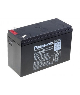 Panasonic 12V 7.2Ah Loodaccu (4.8mm)