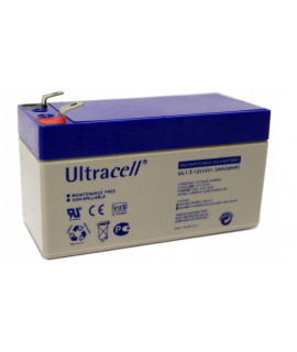 Ultracell 12V 1.3Ah Loodaccu