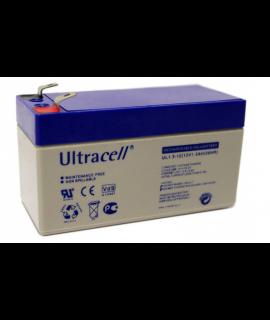 Ultracell 12V 1.3Ah Loodaccu