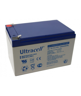 Ultracell 12V 12Ah Loodaccu