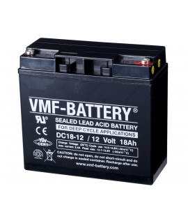 VMF Deep Cycle 12V 18Ah Loodaccu