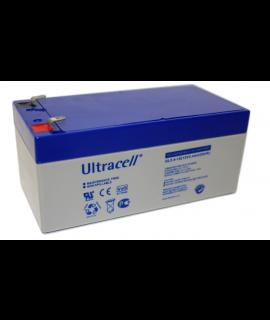 Ultracell 12V 3.4Ah Loodaccu