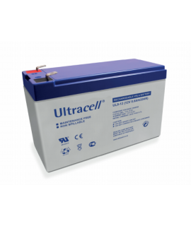 Ultracell 12V 9Ah Loodaccu