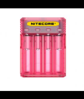 Nitecore Q4 batterijlader  - Pinky Peach