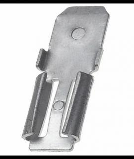 2x Klemadapter voor loodaccu - van 4.74mm naar 6.35mm (F1 - F2)