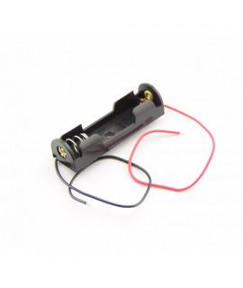 1x AA Batterijhouder met losse draden
