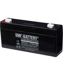 VMF 6V 3.2Ah Loodaccu