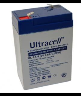 Ultracell 6V 4.5Ah Loodaccu
