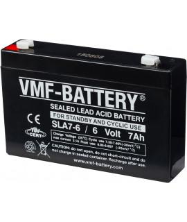 VMF 6V 7Ah loodaccu