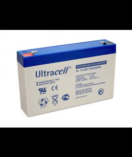 Ultracell 6V 7Ah Loodaccu