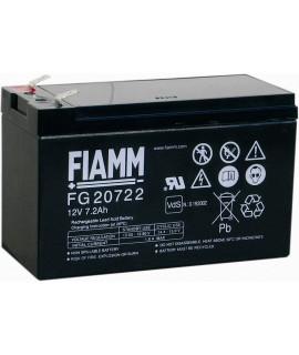 Fiamm FG 12V 7.2Ah (6,3mm) Loodaccu