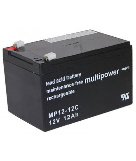 Multipower Deep Cycle 12V 12Ah Loodaccu