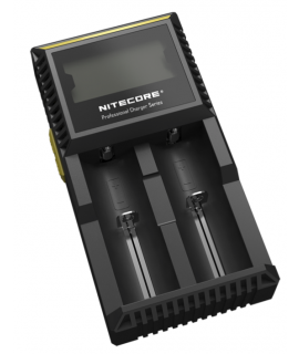 Nitecore Digicharger D2 EU batterijlader