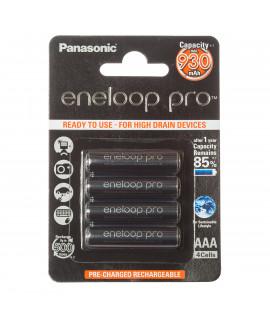 4 AAA Eneloop Pro in blister - 930mAh