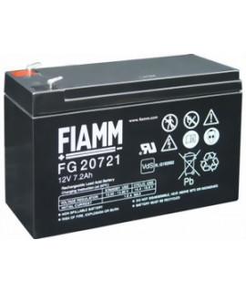 Fiamm FG 12V 7.2Ah (4.8mm) Loodaccu
