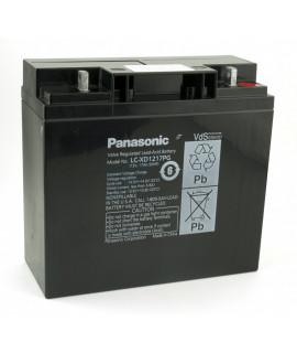 Panasonic 12V 17Ah Loodaccu