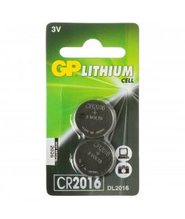 2x GP CR2016 knoopcel