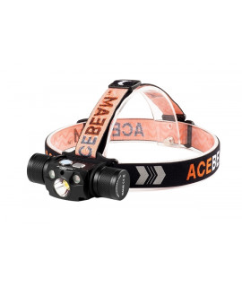 Acebeam H30 Hoofdlamp Cool White (6500K) + Nichia UV LED