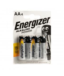 4 AA Energizer Alkaline Power