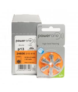 10x6 PowerOne 13 hoorbatterijen