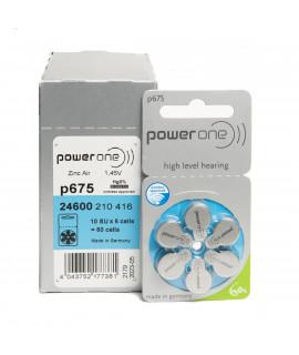 10x6 PowerOne 675 hoorbatterijen