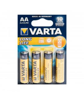4 AA Varta Longlife - blister