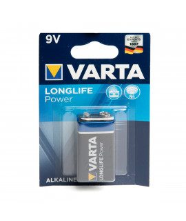 9V Varta Longlife Power - blister